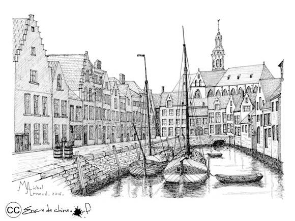 Anvers - Le vieux bassin