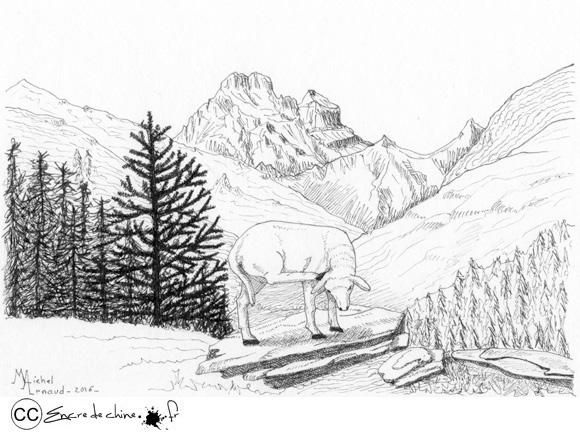 Ceillac & le Mont Viso