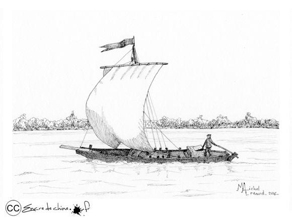 Gabare sur la Loire