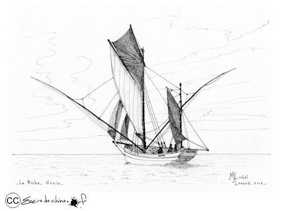 Le Biche en mer